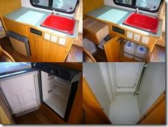 流し・冷蔵庫・フリースペース