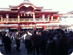 Chiba Shrine 千葉神社境内