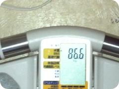 2012年1月22日体重