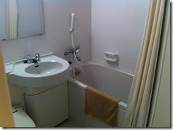 割烹旅館さらしなバストイレ