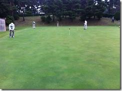 水戸ゴルフクラブ練習グリーン