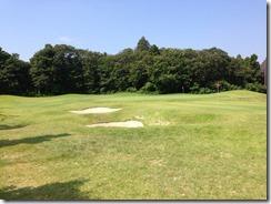 麻倉ゴルフ倶楽部バンカー練習場
