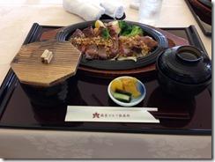 麻倉ゴルフ倶楽部レストランステーキ
